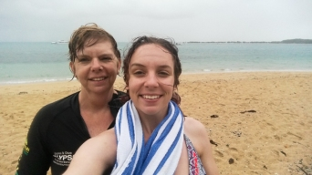 Post-snorkelling selfie